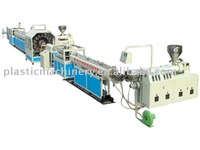 PVC fiber enhancing soft pipe machine