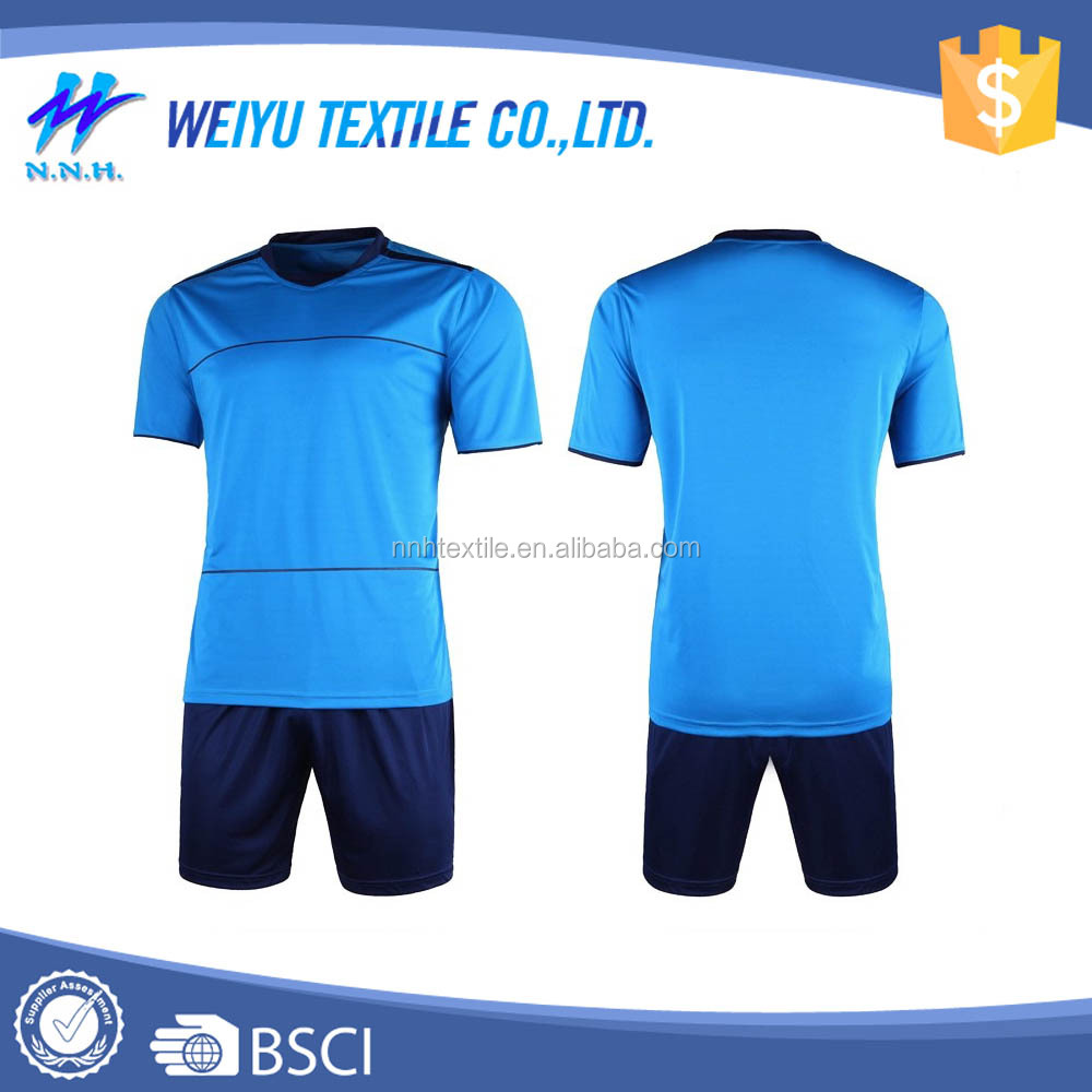 The newly designed wholesale blank soccer jersey