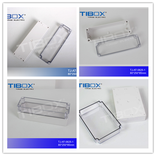 TIBOX CE IP66 ABS plastic meter box Electric Cable Junction Box plastic distribution box