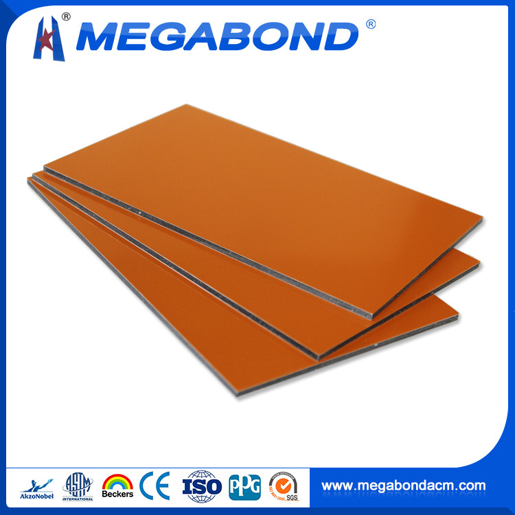 Megabond CE Certificate fire proof acm/acp aluminum composite panel