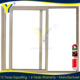 Double glazed thermally broken aluminium 96 x 80 sliding glass door