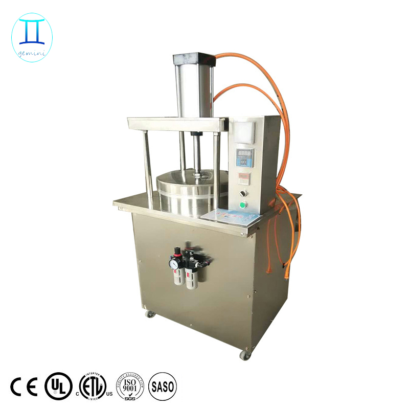 commercial <strong>electricity</strong> pancake tacos machine chapatti making machine/thin pita bread forming machine