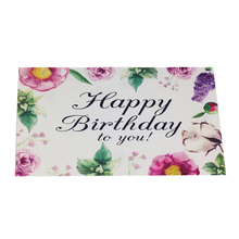 Factory sale various fashion birthday invitation card design,birthday cards