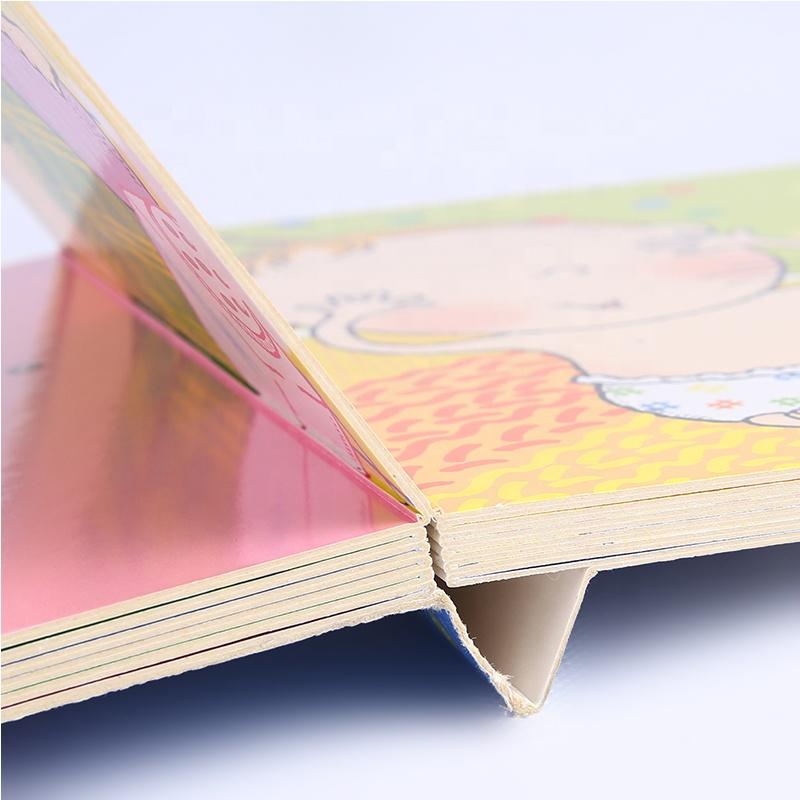 Impresión de China casa barata arte cómico inglés Colroing de libros para niños bebé
