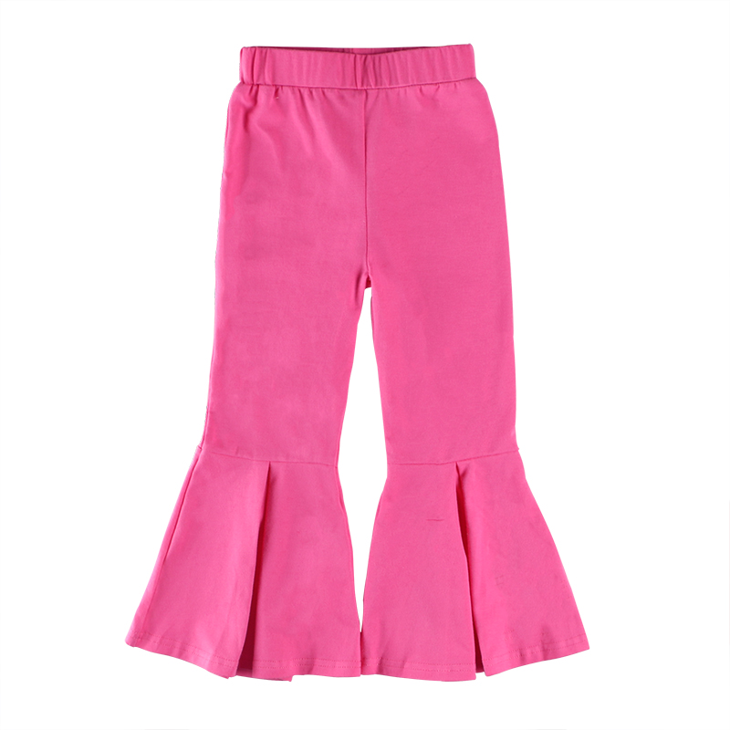 Wholesale boutique kids clothing children clothes ruffle pants