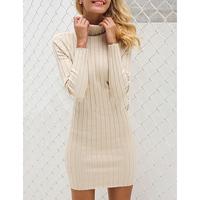 af8c3bfe6d6 Cheap Tight Turtleneck Dress