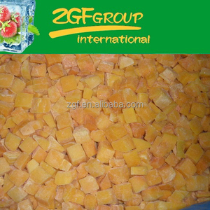 IQF Frozen New Season Fresh pumpkin