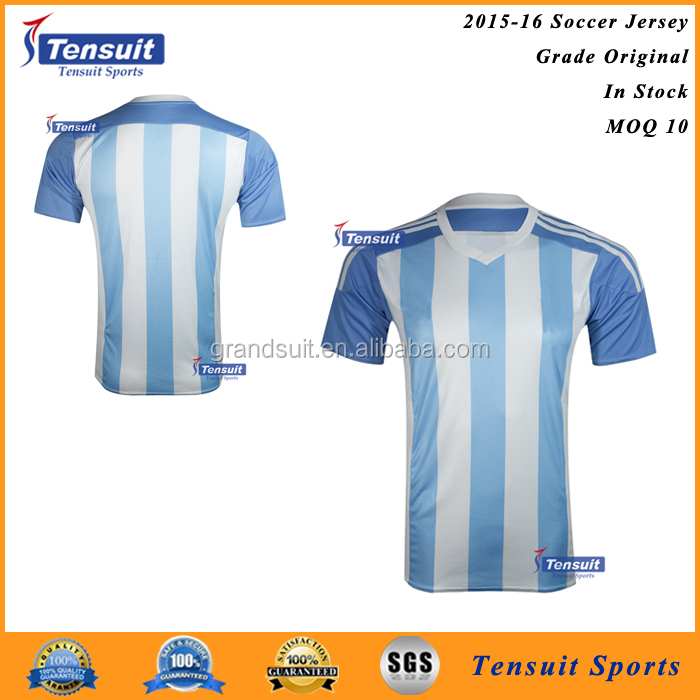 Best quality polyester football shirt alibaba jerseys, wholesale soccer jersey for online shopping