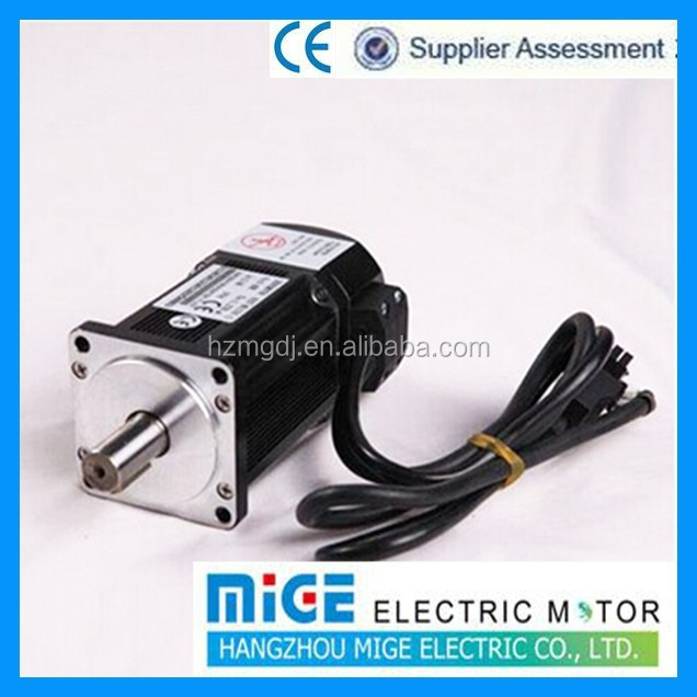Electric motor for sewing machine or textile machine