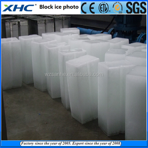 Each block ice is 5kg daily 980kg salt water cooling Automatic Block ice making machine for sale