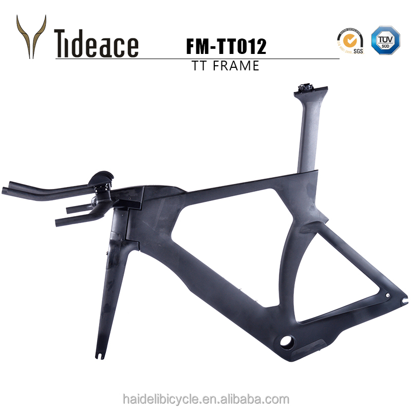 Tideace Tt012 Custom Paint Time Trial Bicycle Frame 100% Full Toray ...