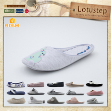 Soft Winter Warm Indoor Use Polka Dot Knitted soft bedroom slipper