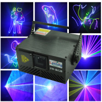 1W RGB Cartoon Animation Stage DJ laser light