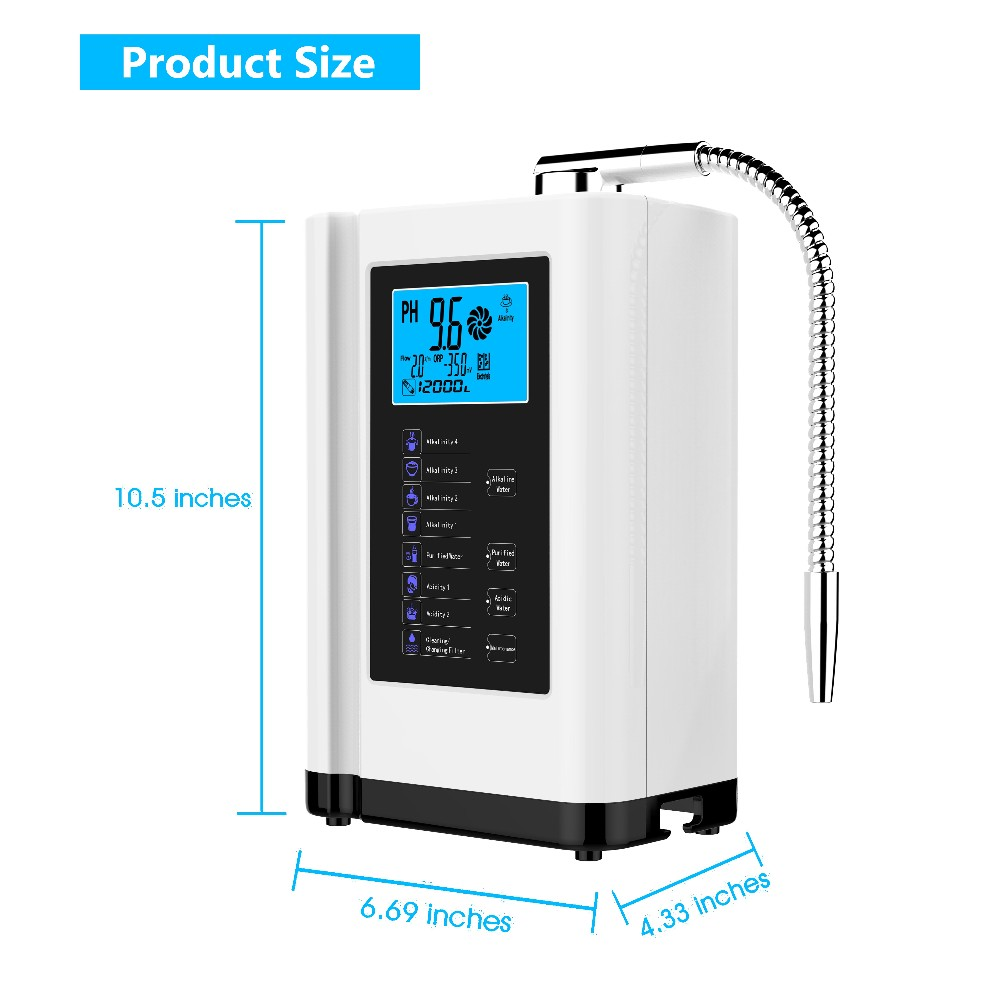 durable water filter alkaline factory for home