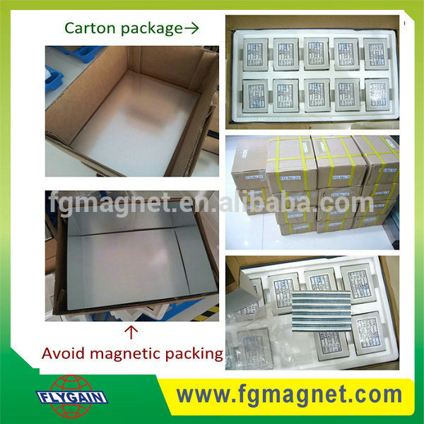 Custom shaped certificated smco magnet samarium cobalt magnet