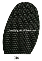 Rubber Half Soles 744 with Thickness 2.2mm,Shoe Sole Repair Materials