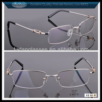 Designer Eyeglasses Frame Rimless Reading Glasses Gold Optical frames Fred