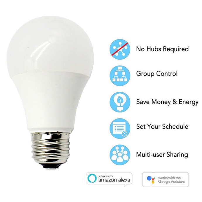 Factory price Smart Alexa Bulb Wifi Led Lamp for Amazon Echo