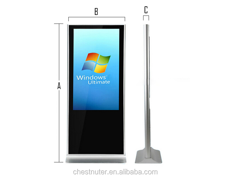32 Inch All In One Computer Stand Alone Lcd Monitor/ Touch Screen ...