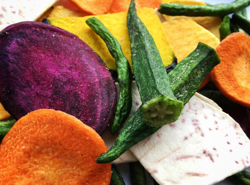 Mixed Vegetable and Fruit chips