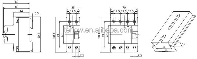 Residual Current Circuit Breaker,Single Phase Rccb,30ma ...