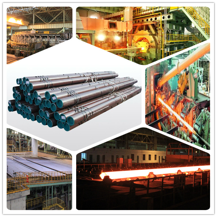 China Professional Manufacturer API Steel Pipe for Oil and Gas Seamless Steel Line Tube