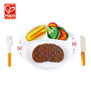 Hot selling interesting kids kitchen wood play set