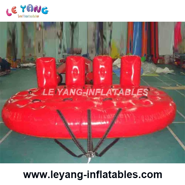 4 rider Inflatable Water Crazy UFO Towable ski Tube