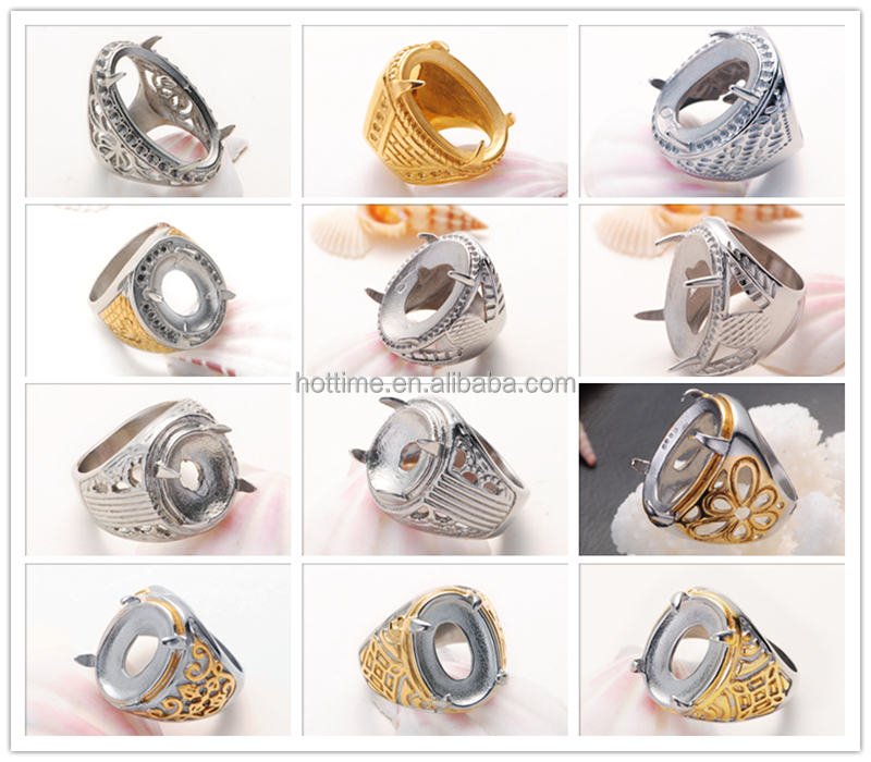 indonesia new design engagement gold rings without stones women ...