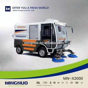 MN-X2000 CE certificate electric auto dumping road sweeper