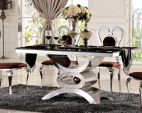 Wholesale new fashion luxury dinning table set dining room DH-1440