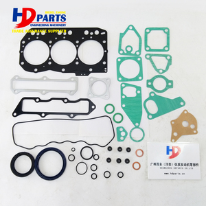 Engine Spare Parts Complete Gasket Kit For Yanmar Engine 3D82