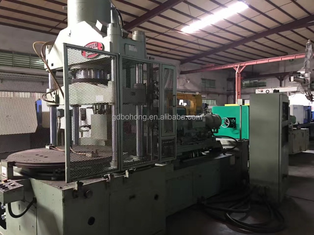 Japanese NISSEI 150T vertical&horizontal combined injection molding machine used