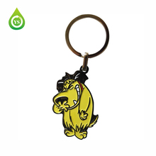 cheap soft PVC detachable key ring design online maker company keychain