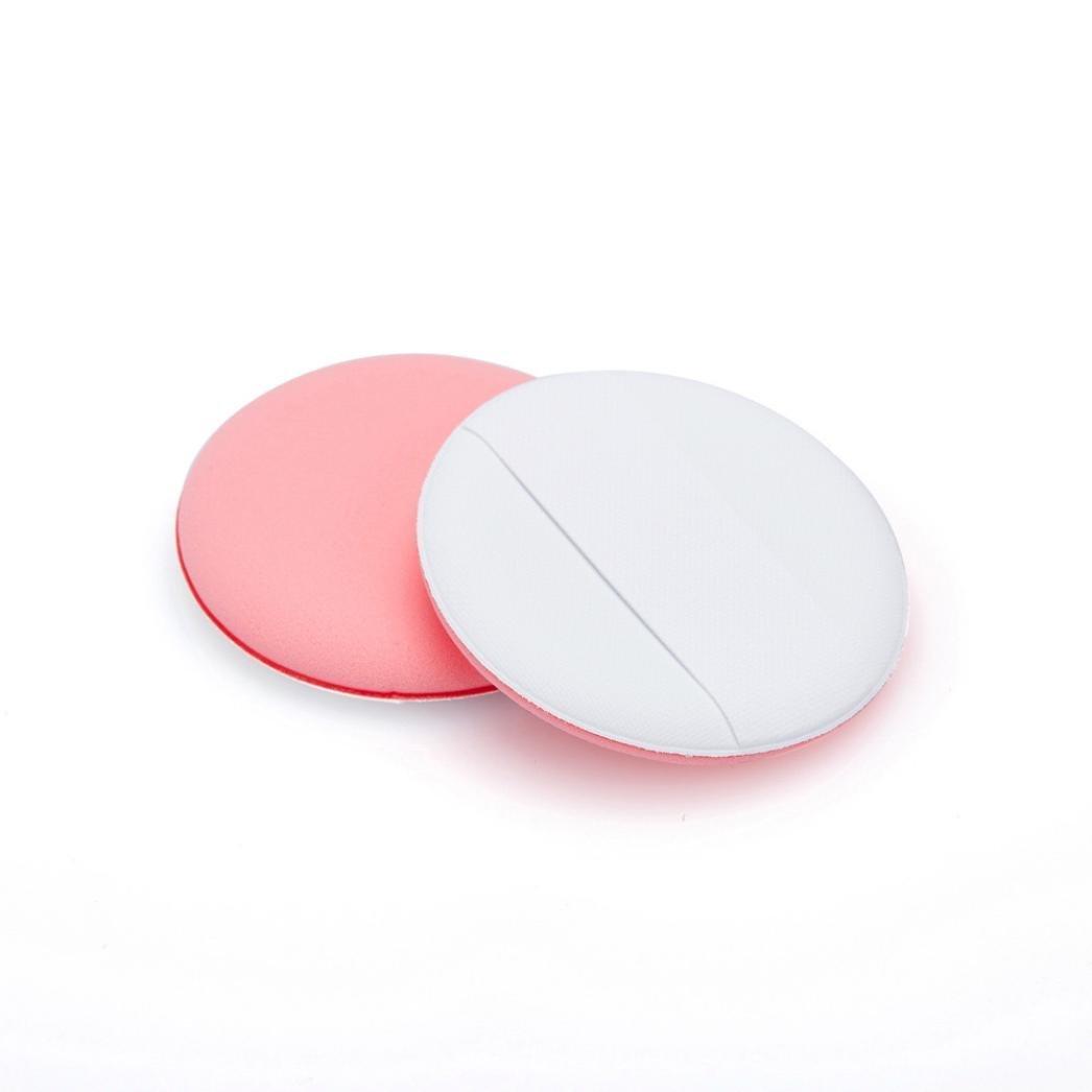 Makeup Air Cushion Puff ,Sandistoe 1pcs Makeup Air Cushion Foundation Powder Compact Blender Cosmetic Puff Tool (Pink)