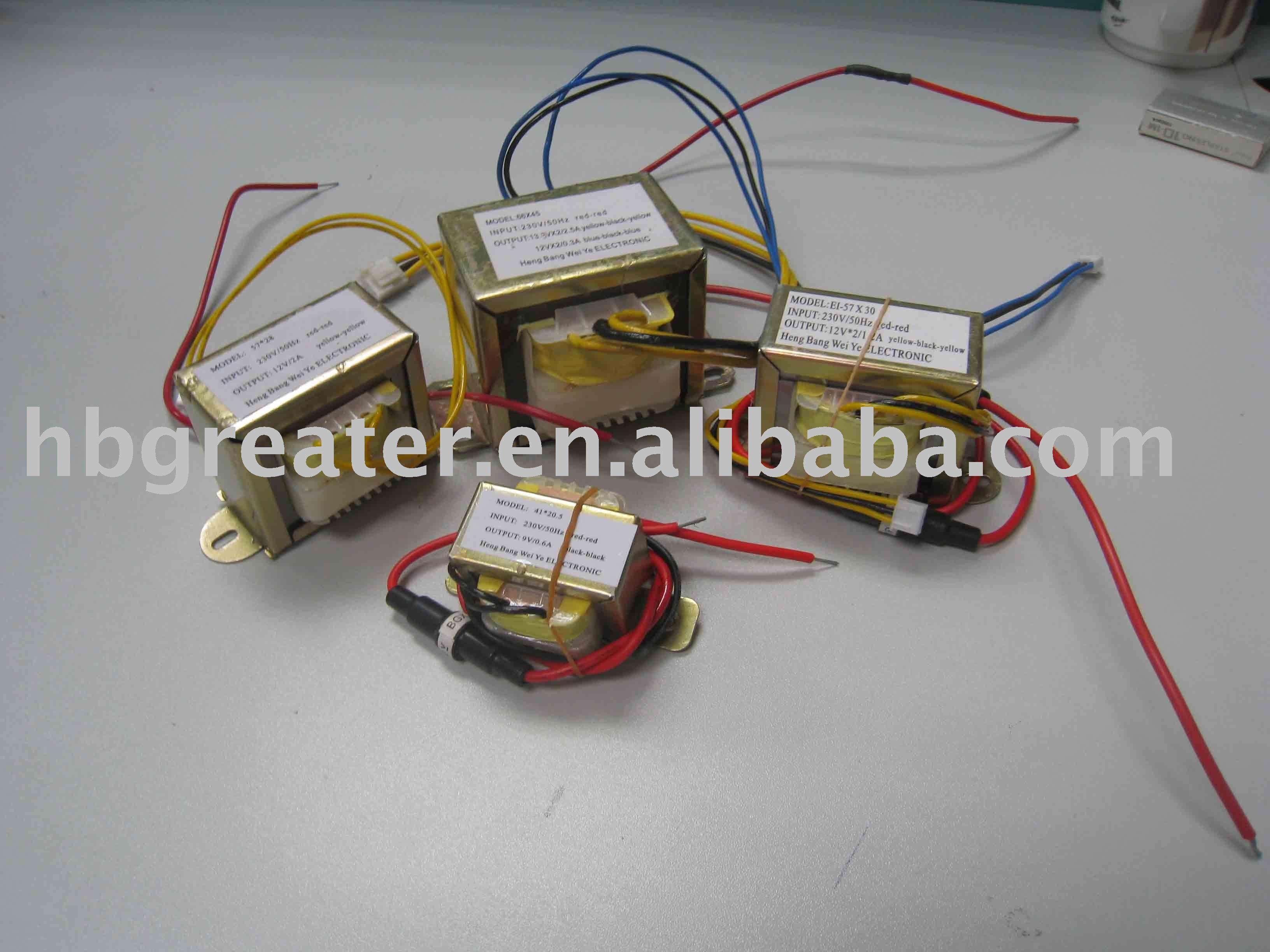 Ac ac transformador 220 v 230 v 12 v 500ma transformador - Transformador 220 a 12v ...