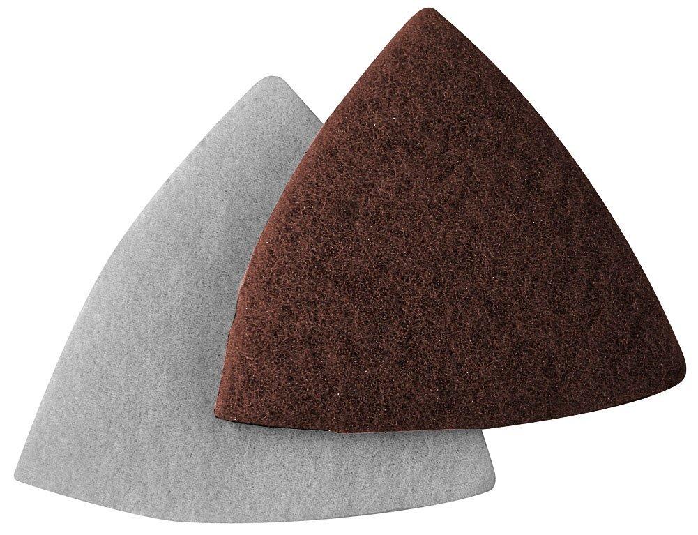 A&H Abrasives 912860, 30-pack, Multi Tool Sanding Shapes, Fein Dremel Multi-max H&l, Fein/Dremel H&L Maroon Pads