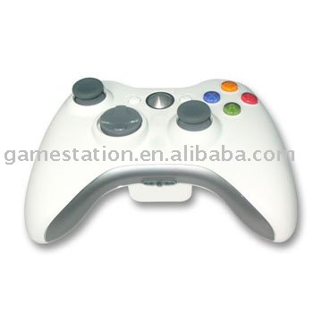 For XBOX 360 Compatible Wireless white Controller (XB3033)