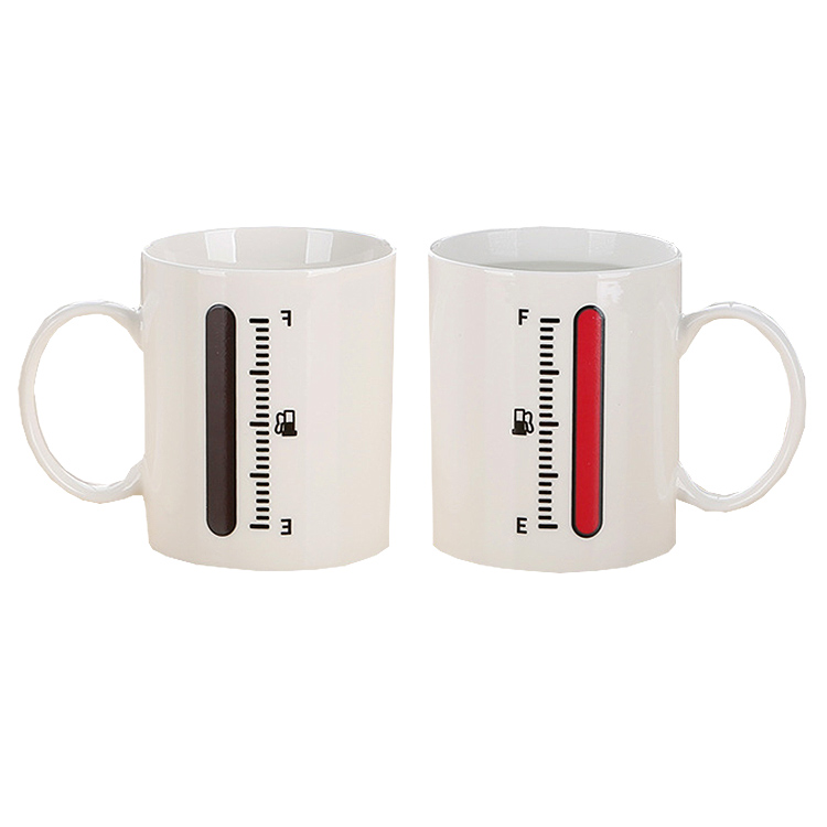 Hot items 2019 new years products custom magic sublimation coffee mugs new gadgets 2018 for home