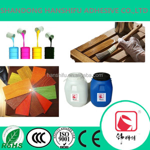 Professional manufacturer in China SHANDONG hanshifu water-based paint glue /adhesive