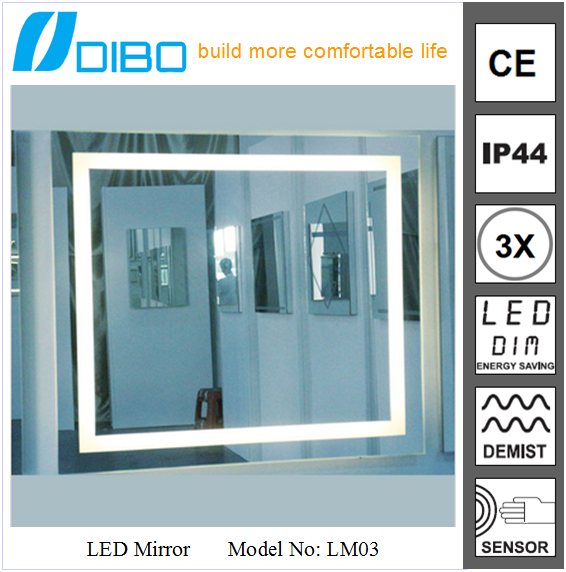Distributors Wanted Backlit Extendable Bathroom Mirror