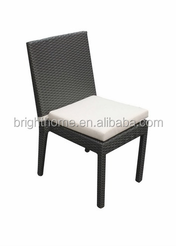 Outdoor Stacking Rattan or Wicker Dining Chair