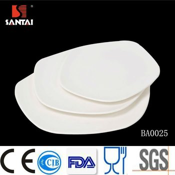 Quinquangular shape design dinner plates bulk cheap decorative ceramic pentagonal plate white dishes  sc 1 st  Alibaba & Quinquangular Shape Design Dinner Plates Bulk Cheap Decorative ...
