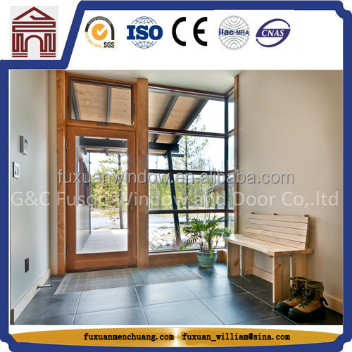 Fire-Resistant Aluminium Main Door
