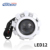 Best selling round strobe light devil eye projector motorcycle led headlight bulb