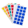Magic Cube PVC Stickers for Dayan GuHong 3x3x3 57mm Magic Cube Puzzle Toys 2 Set