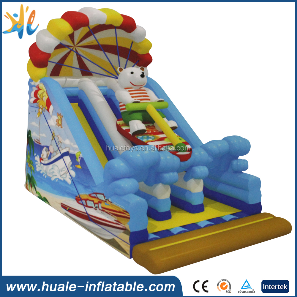 Professional supplier Inflatable bouncy castle with giant inflatable water slide