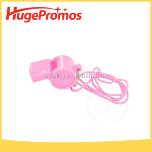 Outdoor Plastic Pink Sport Whistle for promotion