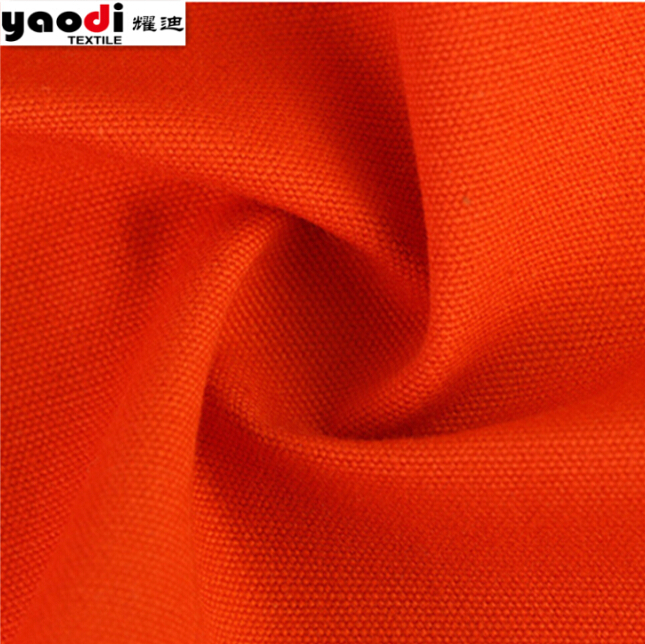 Flame retardant treated cotton fabric for protective garment