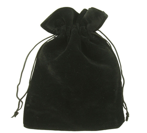 high quality velvet jewelry gift pouch velvet cosmetic drawstring custom logo velvet pouch bag